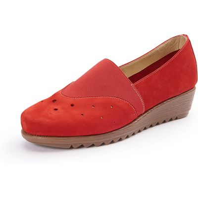 Loafers Peter Hahn red