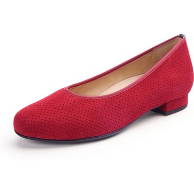 Ballerinas from Hassia red
