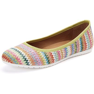 Ballerinas in a summer look Ghibi multicoloured