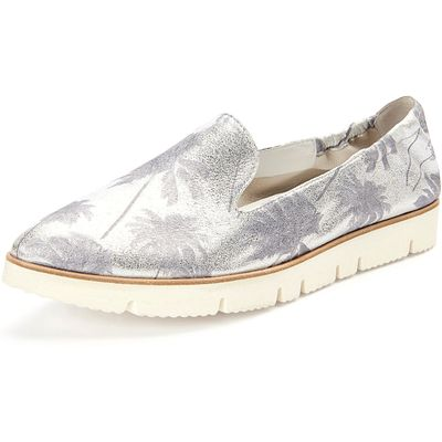 """""""Pia X"""" slip-ons in a slightly pointed style Kennel & Schmenger silver"""