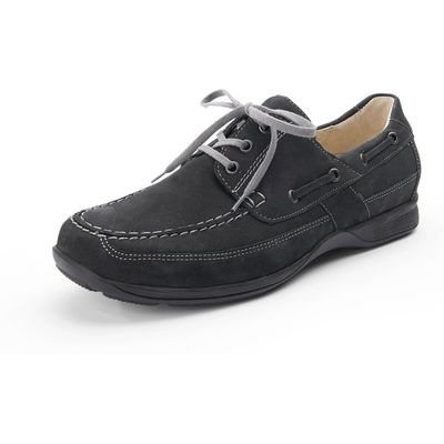 """Herko"" boat shoes by Waldläufer from Waldläufer blue"