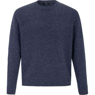 Pullover – a top-quality winter knit Peter Hahn blue