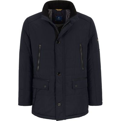 Quilted jacket in a sporty, casual look Pierre Cardin blue