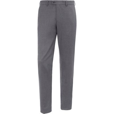 """Modern Fit"" flannel trousers – FELIX Brax Feel Good grey"
