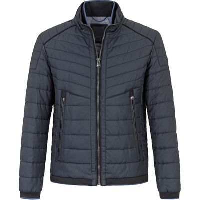 Quilted blouson featuring trendy style elements CALAMAR blue