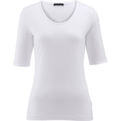 Round neck top Strenesse white