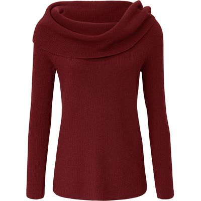 Jumper in 100% cashmere include red
