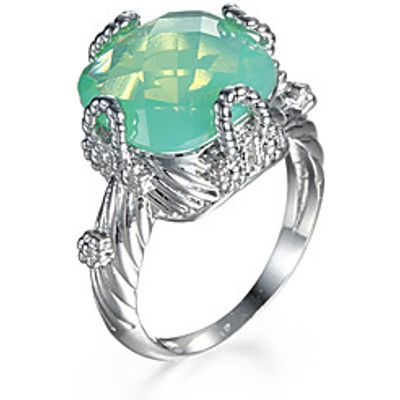 Ring AAA Cubic Zirconia Zircon Fashion Green Jewelry Party Halloween Daily 1pc