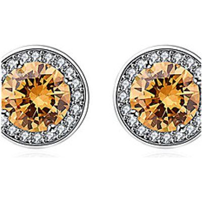 Women's Stud Earrings Crystal Imitation Diamond Euramerican Fashion Personalized Simple Classic S925