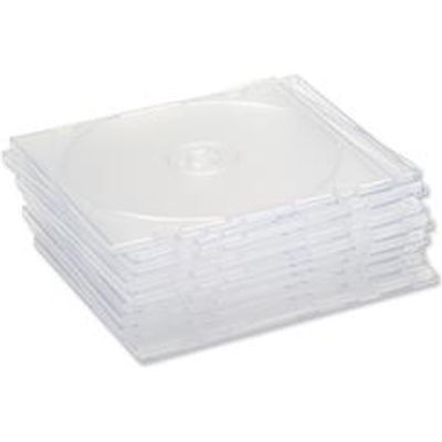 5018206329295 | CD Case Slimline Jewel for 1 Disk Clear  Pack 50  Store