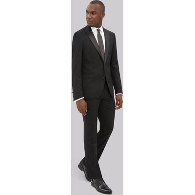 DKNY Slim Fit Black Tuxedo Jacket