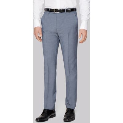 Ted Baker Tailored Fit Light Blue Trousers
