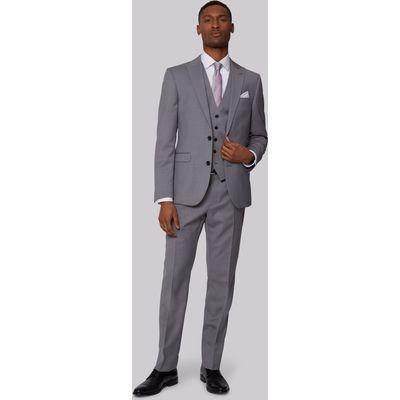 DKNY Slim Fit Neutral Pindot Jacket
