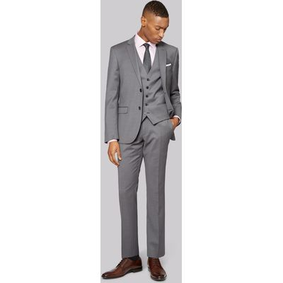 DNKY Slim Fit Grey Pindot Jacket