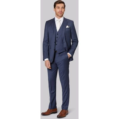 Lanificio F.lli Cerruti Dal 1881 Cloth Tailored Fit Light Blue Jacket