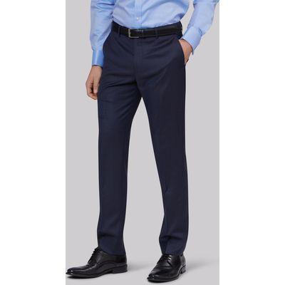 Lanificio F.lli Cerruti Dal 1881 Cloth Tailored Fit Indigo Semi Plain Trouser