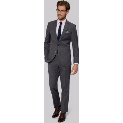 Moss 1851 Tailored Fit Grey End on End Suit