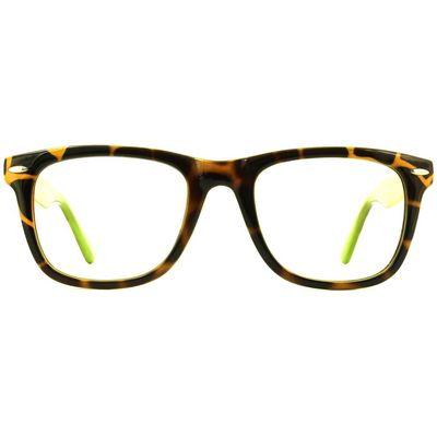 Glasses Direct Planet 01 Glasses - Tortoise/Green