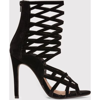 Lornah Black Caged Heels, Black