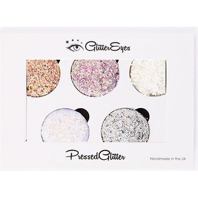 GlitterEyes Chunky 5 Pan Palette, Multi