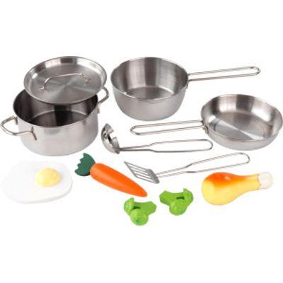 KidKraft Deluxe Cookware Set  63186  - 0706943631867