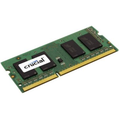 0649528762290 | Crucial 4GB SO DIMM DDR3 PC3 8500 CL7  CT4G3S1067MCEU  Store