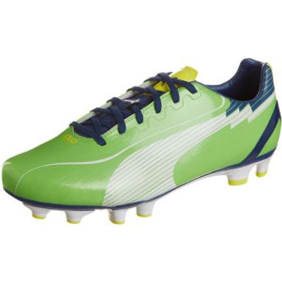4051909696005 | Puma evoSPEED 4 FG jasmine green monaco blue fluo yellow Store