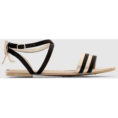 Two-Tone Sandals