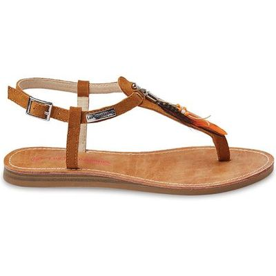 Galatee Flat Leather Sandals