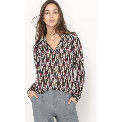 Lilou Lightweight Printed Blouse