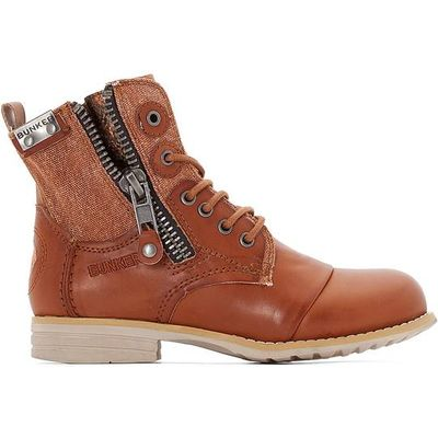 Sara Zip-Up Ankle Boots
