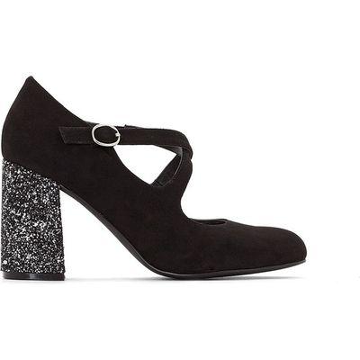 Sequin Heel Court Shoes