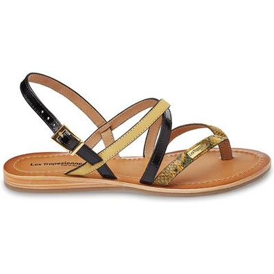 Home Flat Leather Sandals