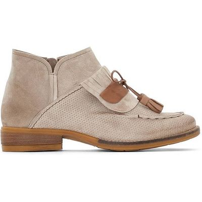 Porter Leather Ankle Boots