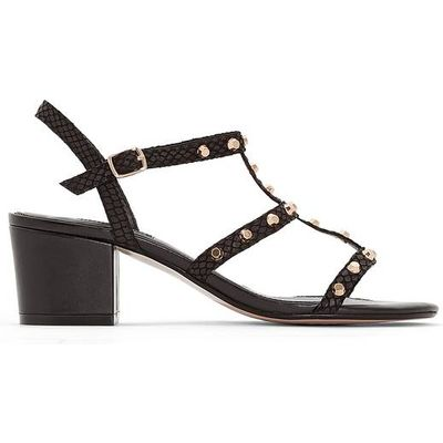 Laciee Flat Leather Sandals
