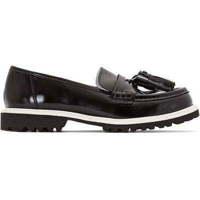 Amanda Polido Leather Loafers