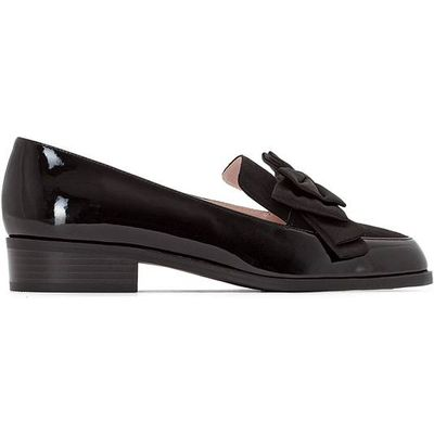 Bow Trim Loafers