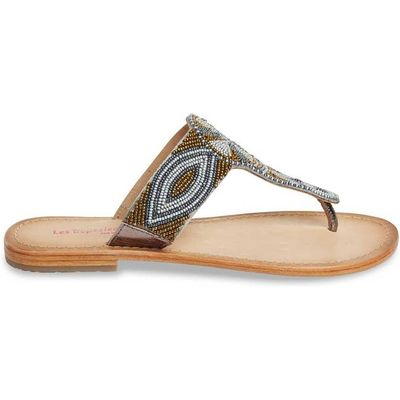 Melody Flat Leather Sandals