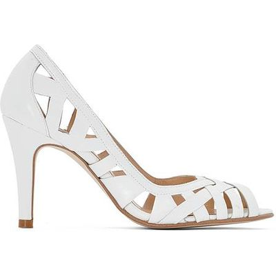 Djeny Leather Heels