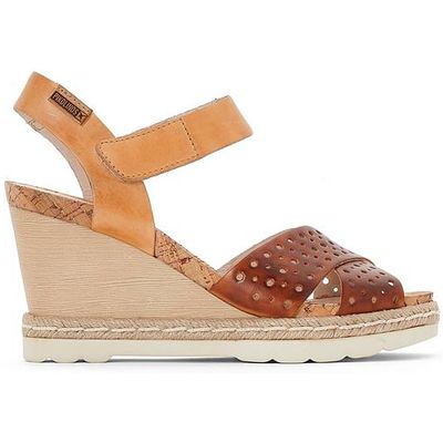 Bali Leather Wedge Sandals