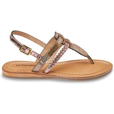Baraka Flat Leather Sandals