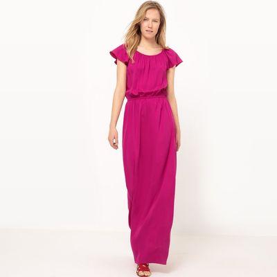 Softly Draping Maxi Dress