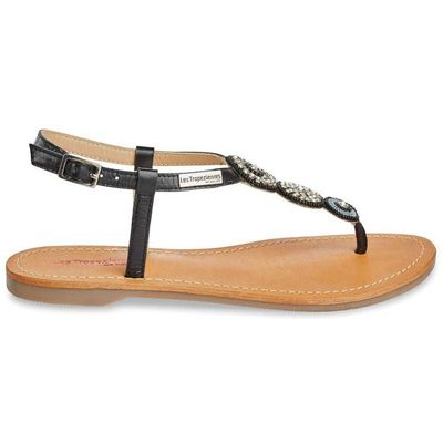 Orion Flat Leather Sandals