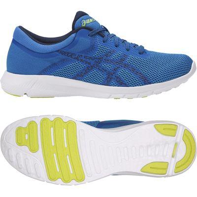 Asics NitroFuze 2 Mens Running Shoes - Blue, 7 UK