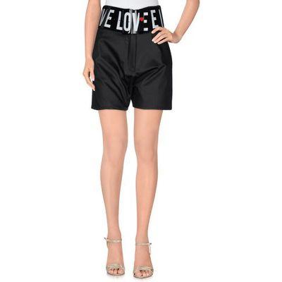 LOVE MOSCHINO TROUSERS Bermuda shorts Women on YOOX.COM