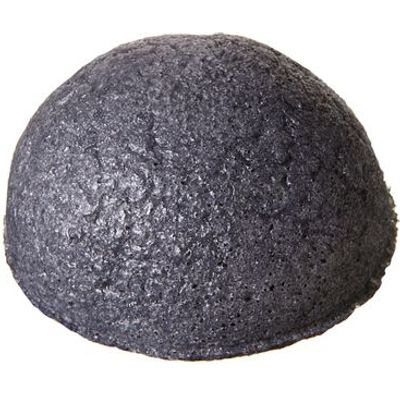 Pure Konjac Puff Sponge with Bamboo Charcoal