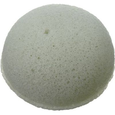Pure Konjac Puff Sponge with French Green Clay