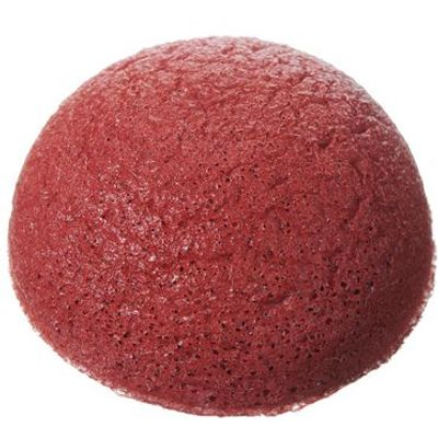 Pure Konjac Puff Sponge with French Red Clay
