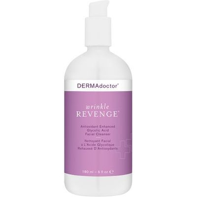 Wrinkle Revenge Antioxidant Enhanced Glycolic Acid Facial Cleanser