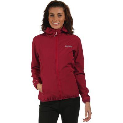Women's Arec Softshell Jacket Beetroot Cerise